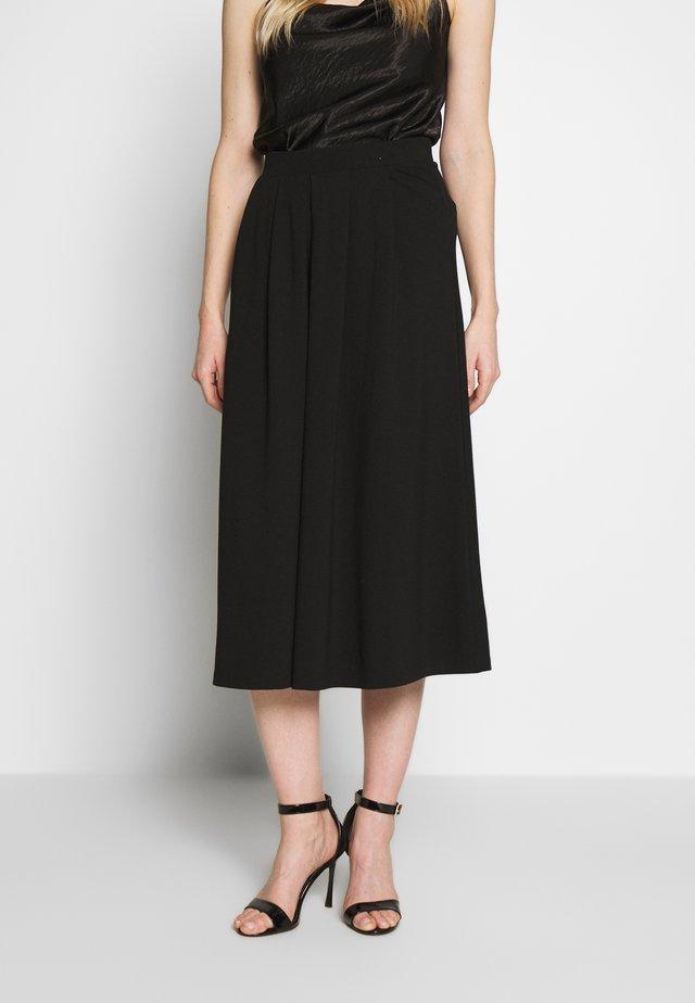 BASIC - A-snit nederdel/ A-formede nederdele - black