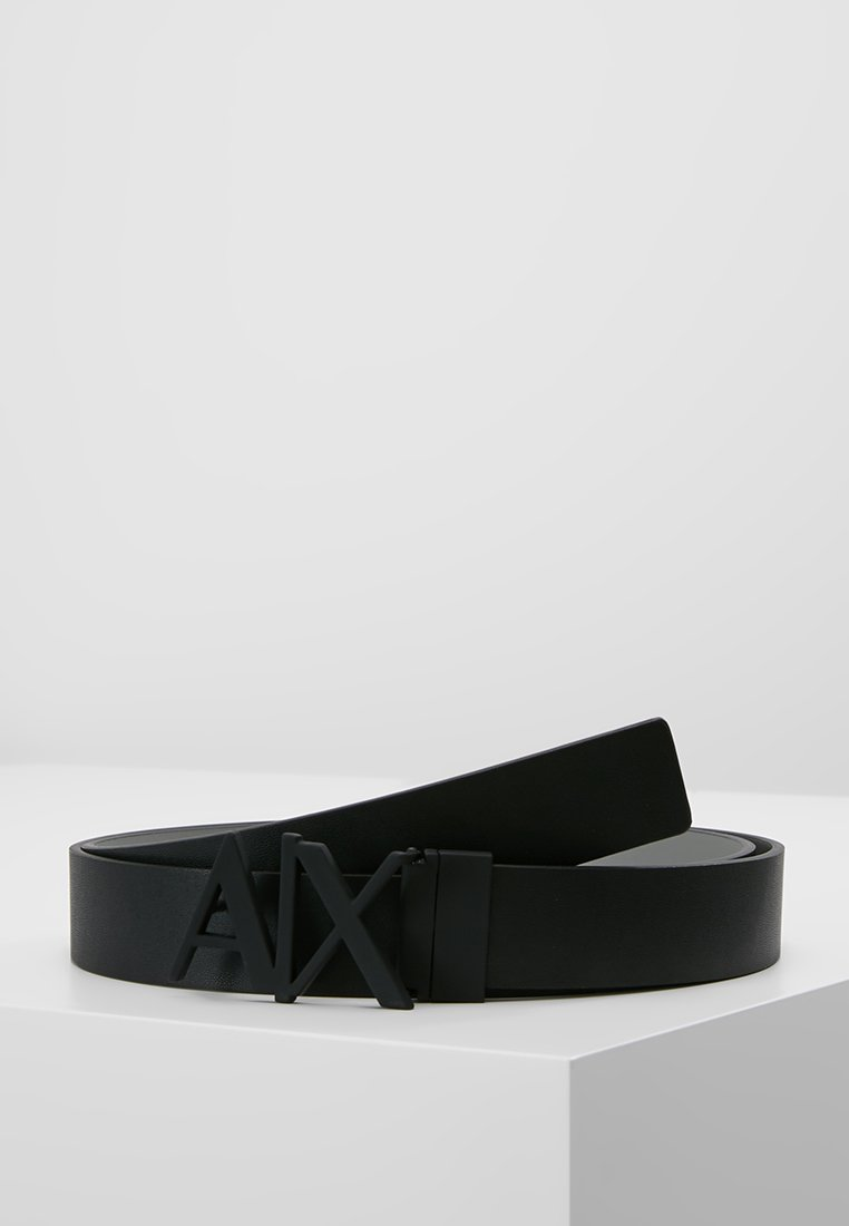 Armani Exchange - BELT - Gürtel - black/silver