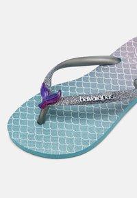 Havaianas - GLITTER COLOR - T-bar sandals - blue - 4