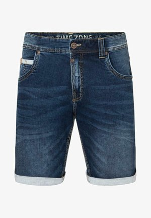 SCOTTY - Denim shorts - light aged wash