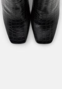 Glamorous Wide Fit - Kotníková obuv na vysokém podpatku - black - 5