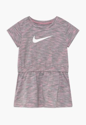 SPACE DYE DRESS BABY - Jerseykjoler - pink