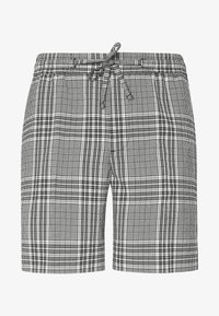 CHECK PULL ON - Shorts - black/white