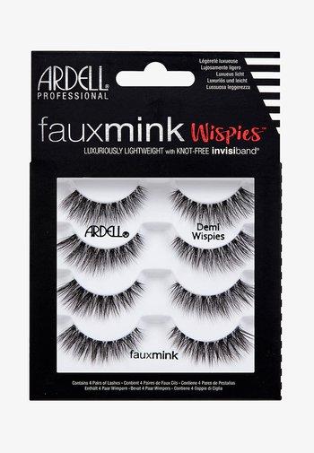 FAUX MINK DEMI WISPIES MULTIPACK - False eyelashes - -