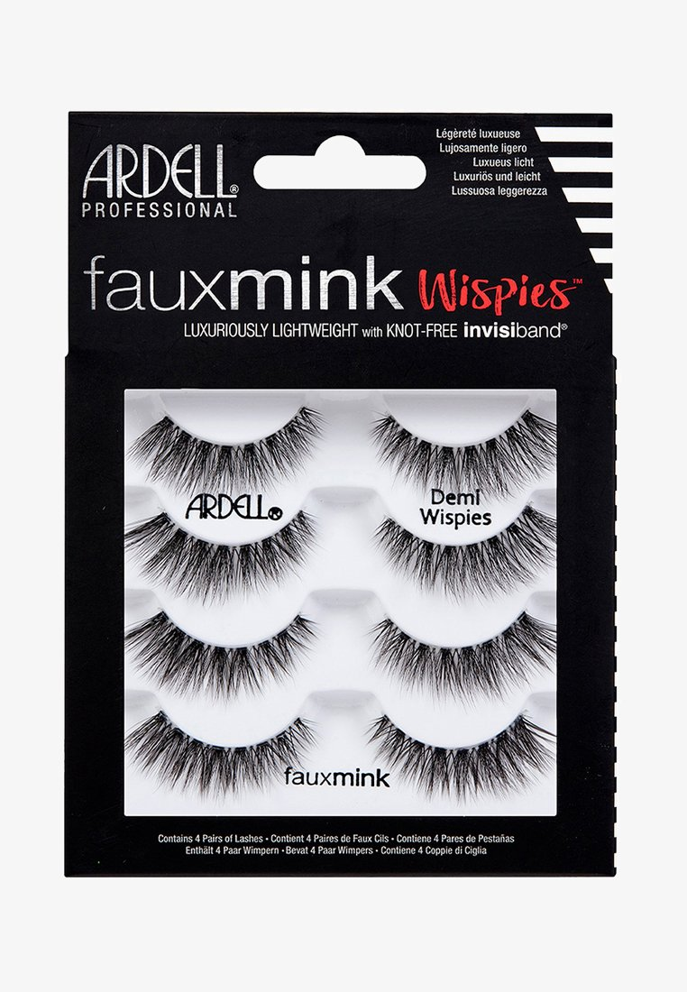 Ardell - FAUX MINK DEMI WISPIES MULTIPACK - False eyelashes - -