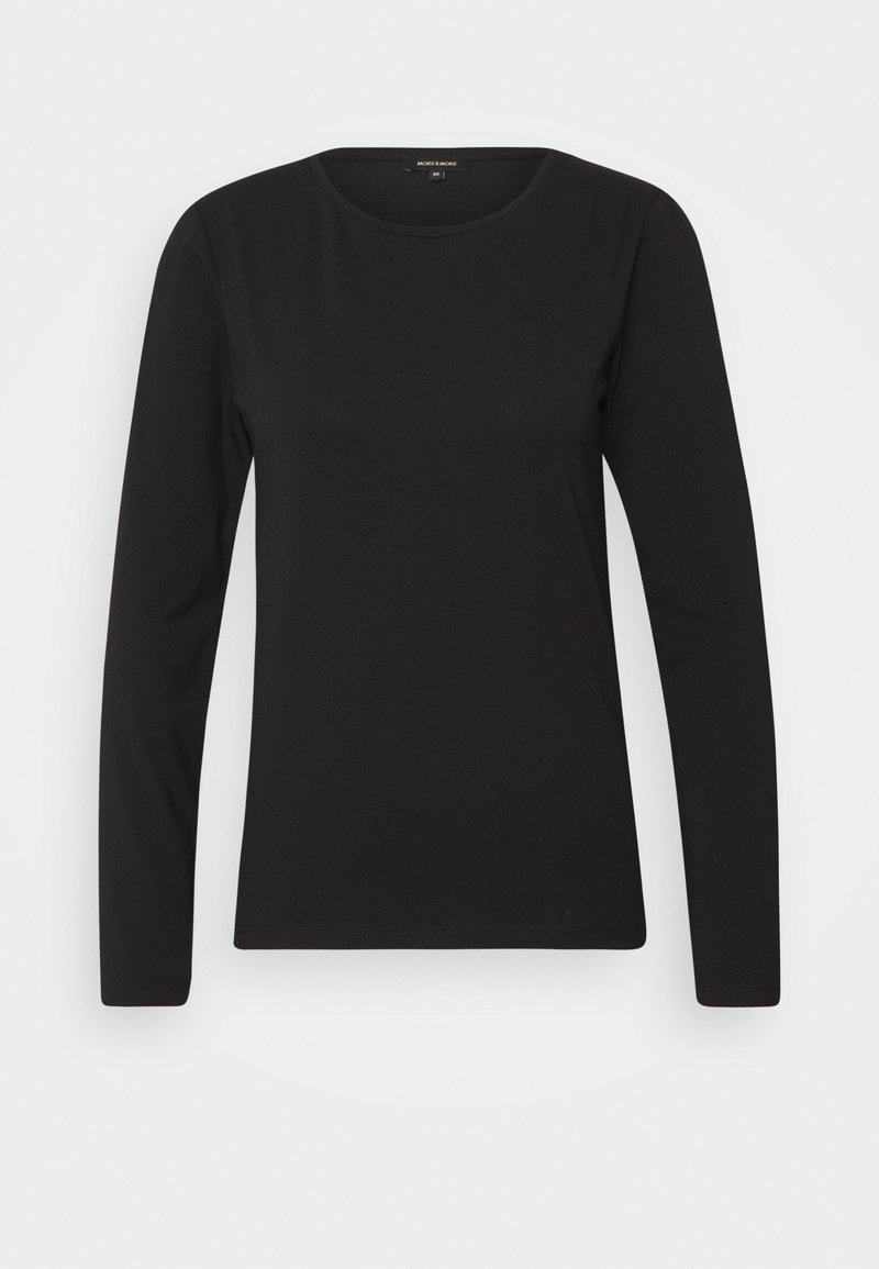 More & More - Long sleeved top - black