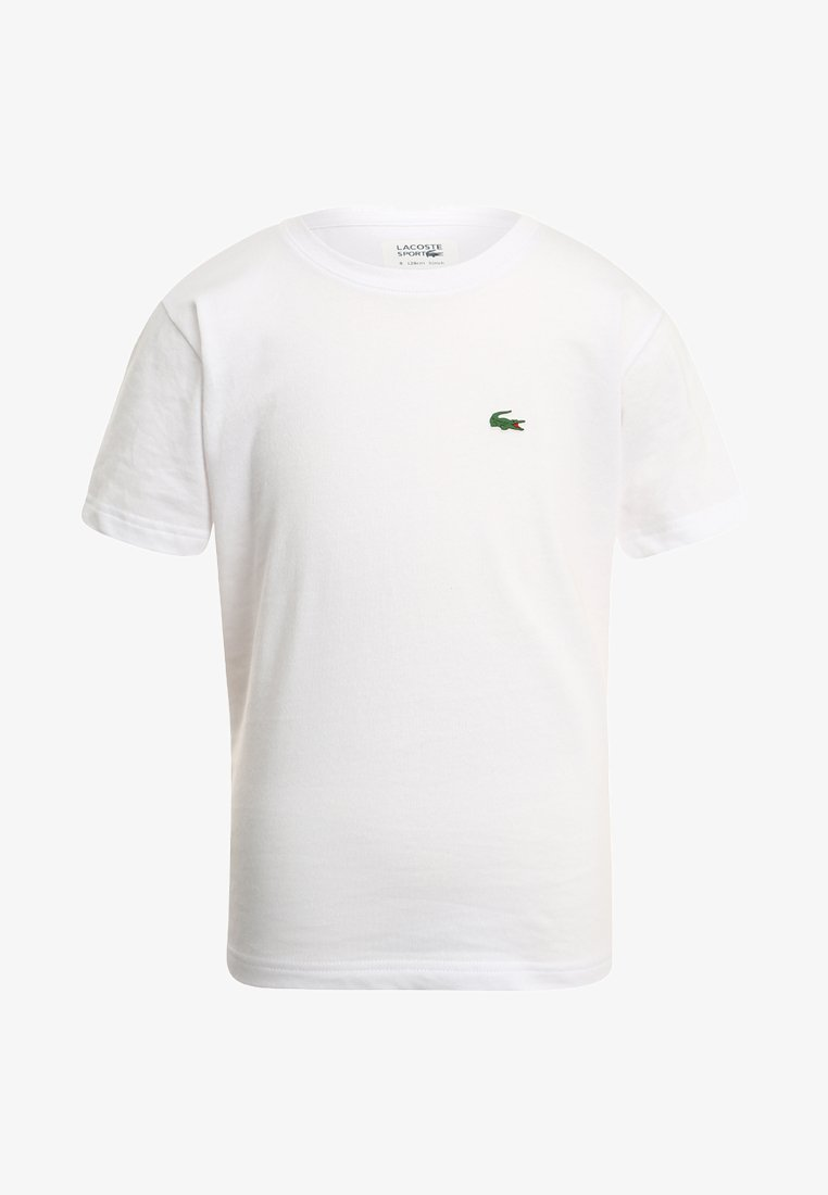 Lacoste Sport - LOGO UNISEX - T-shirt - bas - white