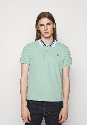 CLASSIC STRIPE COLLAR - Polo shirt - mint