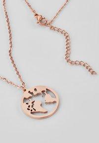 Heideman - WELTKUGEL GLOBUS - Halskette - rose gold-coloured - 3
