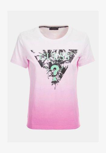 LOGODREIECK - Print T-shirt - rose