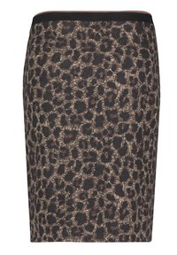 Betty Barclay - MIT JACQUARD - Pencil skirt - black/taupe - 4
