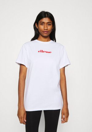 PETRONILLA TEE - Print T-shirt - light blue