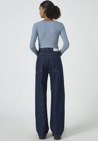 PULL&BEAR - Cardigan - blue - 2