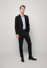 Tommy Hilfiger Tailored - DOBBY DESIGN CLASSIC - Kauluspaita - blue - 1