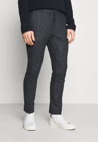 Shelby & Sons - STANLEY TROUSER - Pantalones - navy - 0