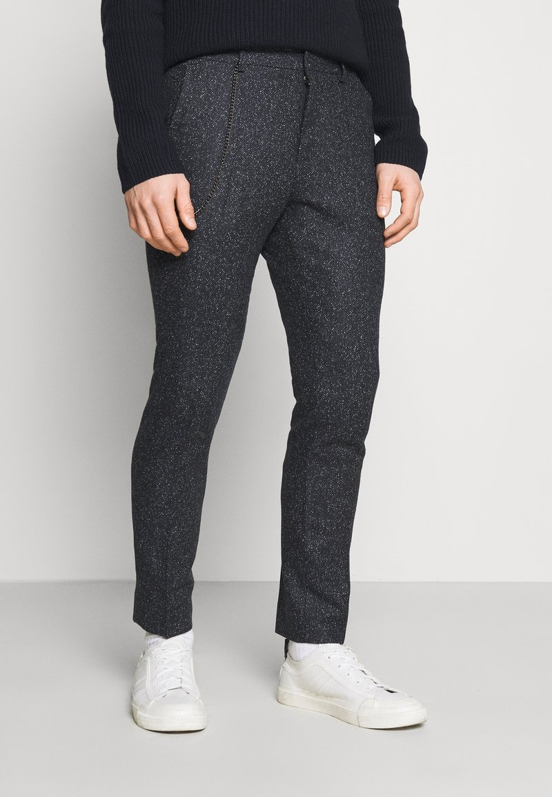 Shelby & Sons - STANLEY TROUSER - Pantalones - navy