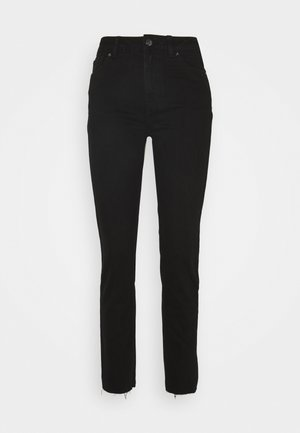 ONLEMILY LIFE - Straight leg -farkut - black denim