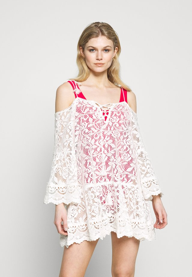ALLOVER TUNIC - Beach accessory - off white