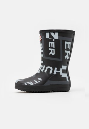 KIDS FIRST CLASSIC EXPLODED LOGO BOOTS UNISEX - Wellies - onyx