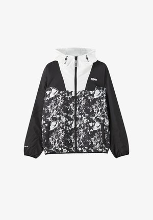 Light jacket - mottled black