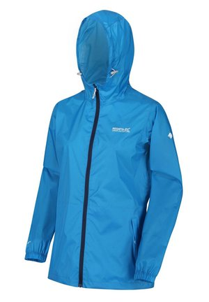 PACK IT  - Waterproof jacket - blue aster