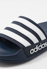 adidas Performance - ADILETTE - Chanclas de baño - blue - 5