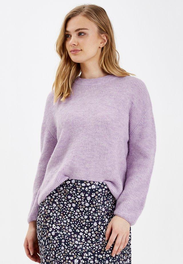 BYMARTINE - Pullover - mel. lilac breeze