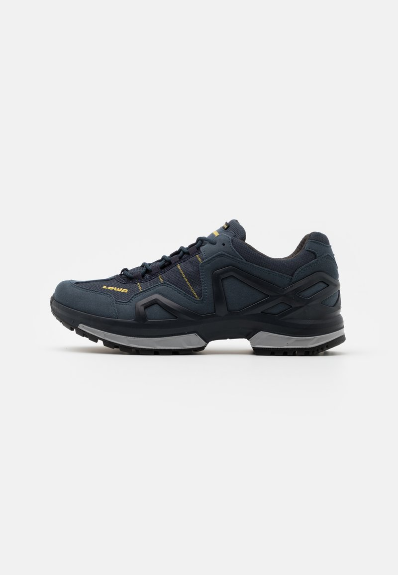 Lowa - GORGON GTX - Hiking shoes - steel blue/mustard