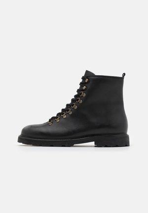 TEDIQ HIKER OXFORD COMBAT BOOT - Veterboots - black
