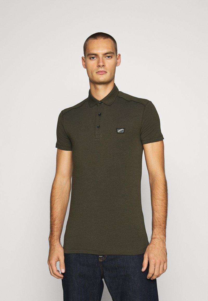 Antony Morato - PLATE ON FRONT - Polo shirt - green