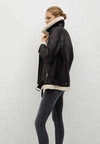 Mango - ISA - Jeans Skinny Fit - open grijs - 4