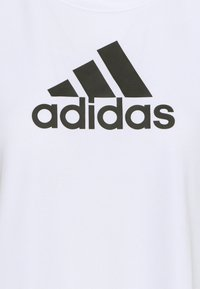 adidas Performance - Print T-shirt - white/black - 5