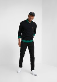 Polo Ralph Lauren - LORYELLE  - Jumper - black/gold - 1