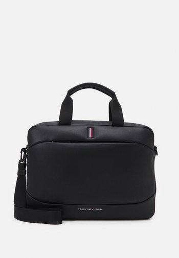 HOUR BAG UNISEX - Across body bag - black