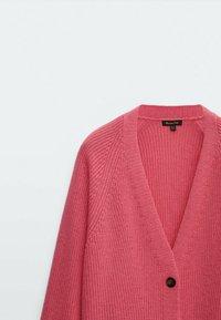Massimo Dutti - Cardigan - neon pink - 2