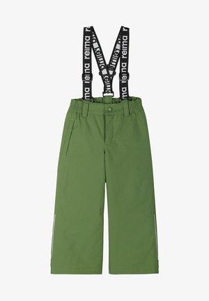 LOIKKA - Snow pants - cactus green