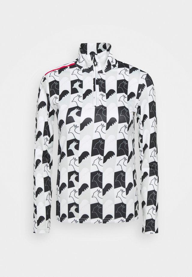 PALMARES ZIP - Maglietta a manica lunga - light grey