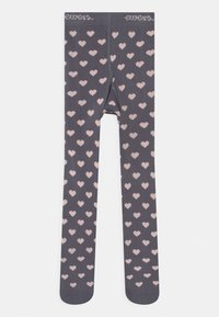 Ewers - HEARTS 2 PACK - Tights - grey/pink - 2