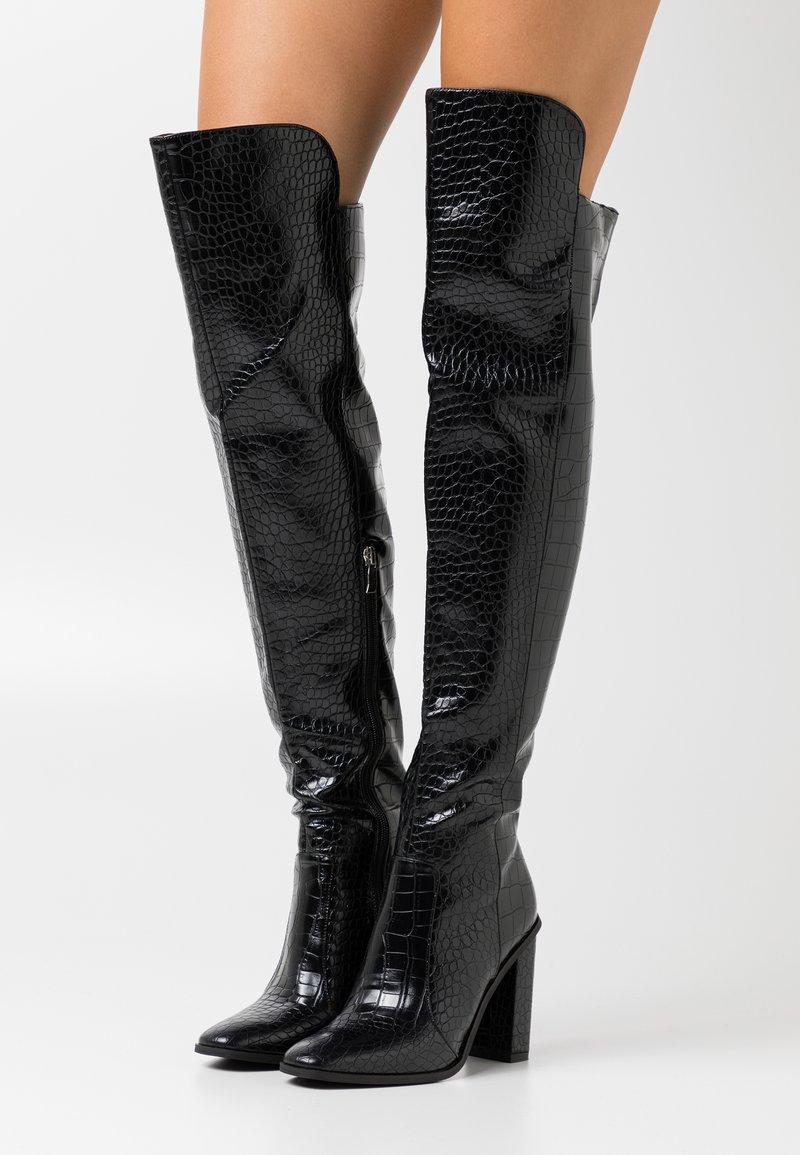 RAID - CYNTHIA - Laarzen met hoge hak - black