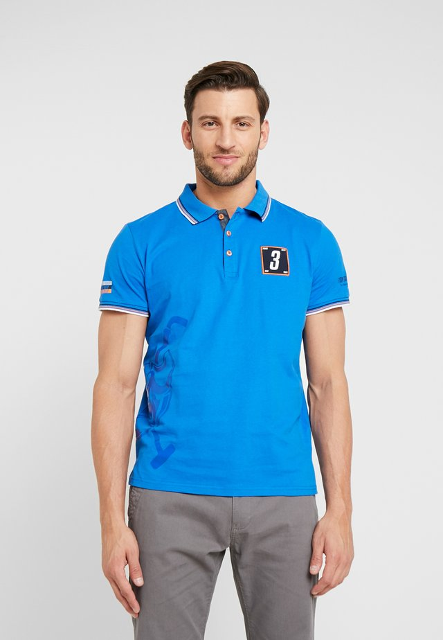 DECORATED TEAM - Polo - strong blue