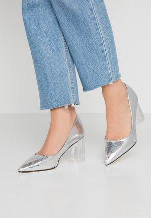 ATILA - Classic heels - silver