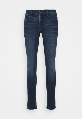 GILMOUR SUPER SKINNY FIT IN POWER STRETCH - Jeans Tapered Fit - blue denim
