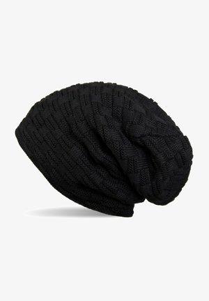Beanie - schwarz