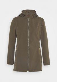 Icepeak - UHRICHSVILLE - Soft shell jacket - dark olive - 4