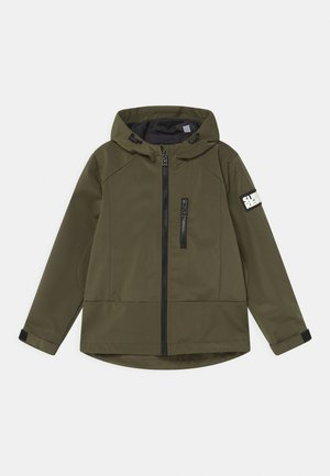 UNISEX - Soft shell jacket - army green