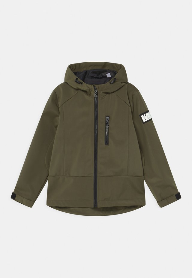 UNISEX - Veste softshell - army green