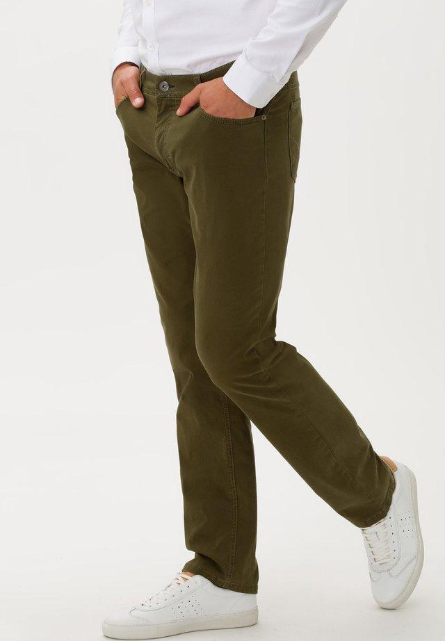 STYLE COOPER FANCY - Straight leg jeans - moss