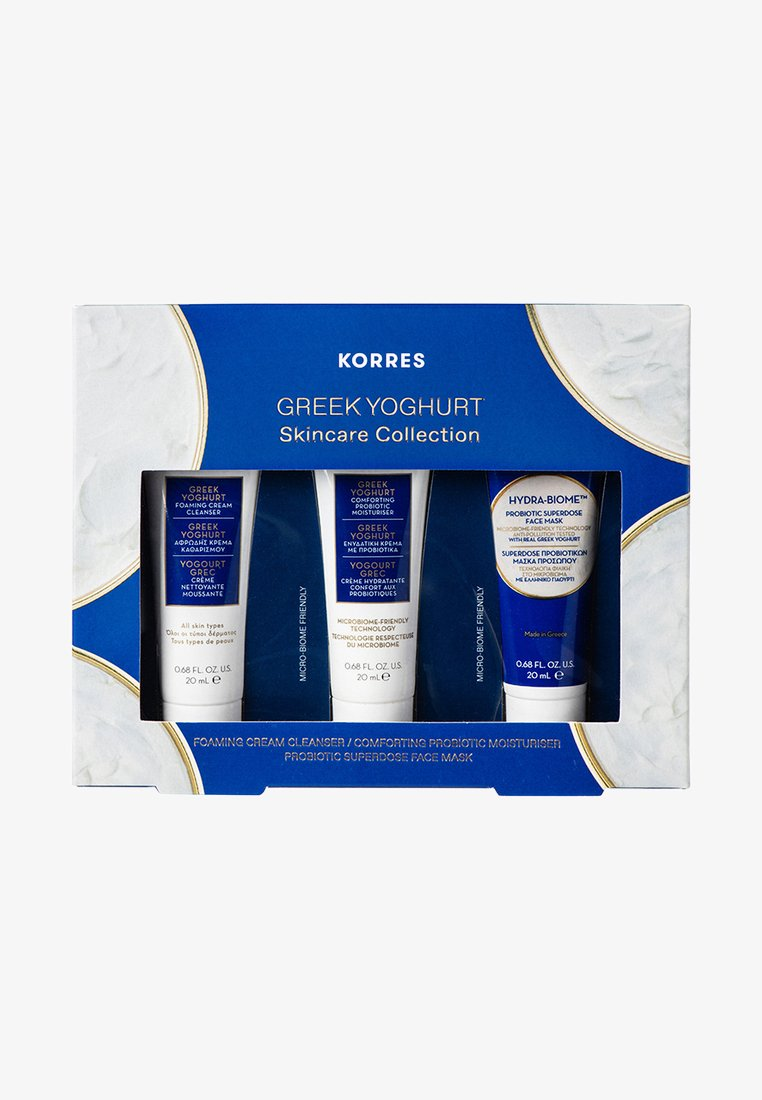 Korres - THE GREEK YOGURT RITUAL TRAVEL SIZE SET - Skincare set - -