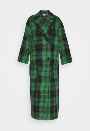 CHECKED OVERSIZED FORMAL COAT - Frakker / klassisk frakker - green