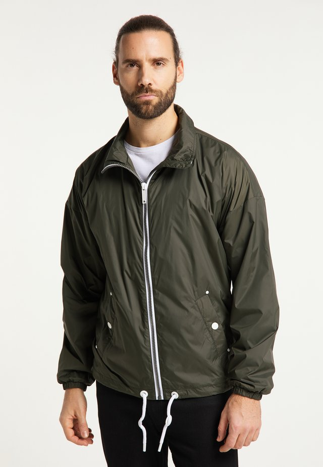 Training jacket - dunkeloliv